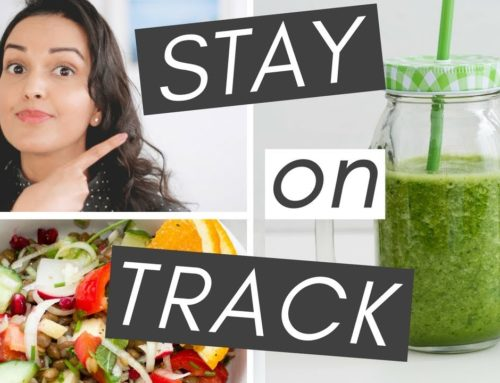 CAN'T STICK TO A HEALTHY LIFESTYLE? //  5 tips to stay on track (long-term)